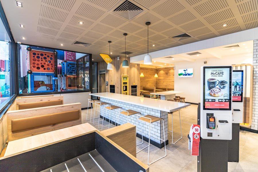 BP McDonalds Autobarn-Nowra - Structen